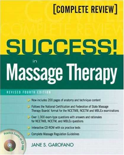 Books About Success - Success! In Massage Therapy, Revised Edition (4th Edition) (Success! (Pearson))