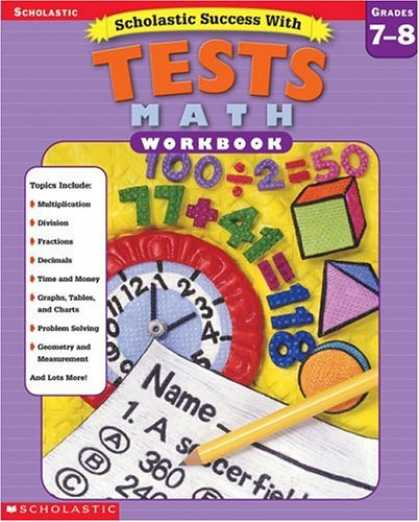 Books About Success - Scholastic Success with Tests: Math Workbook Grade 7-8 (Grades 7-8)