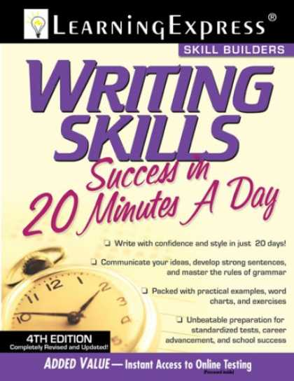Books About Success - Writing Skills Success in 20 Minutes a Day, 4th Edition (Skill Builders)