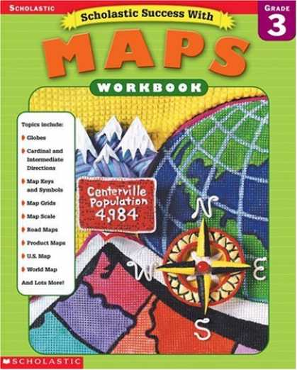 Books About Success - Scholastic Success With Maps Workbook Grade 3 (Grades 3)