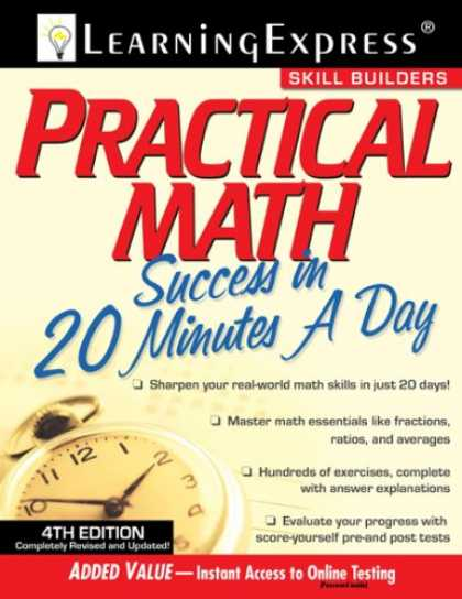 Books About Success - Practical Math Success in 20 Minutes a Day, 4th Edition (Skill Builders)