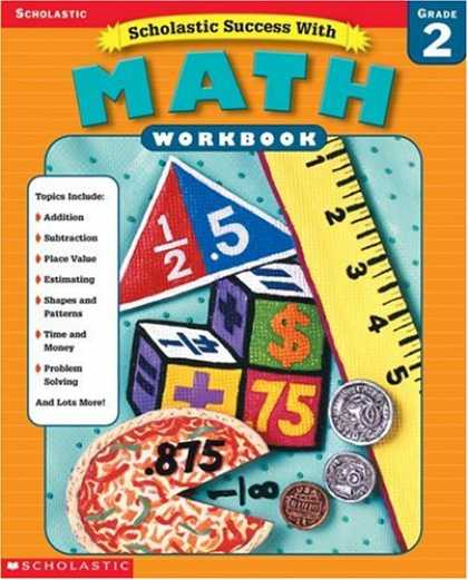 Books About Success - Scholastic Success With Math Workbook Grade 2 (Grades 2)