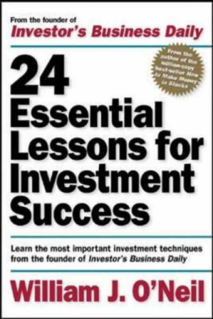 Books About Success - 24 Essential Lessons for Investment Success: Learn the Most Important Investment