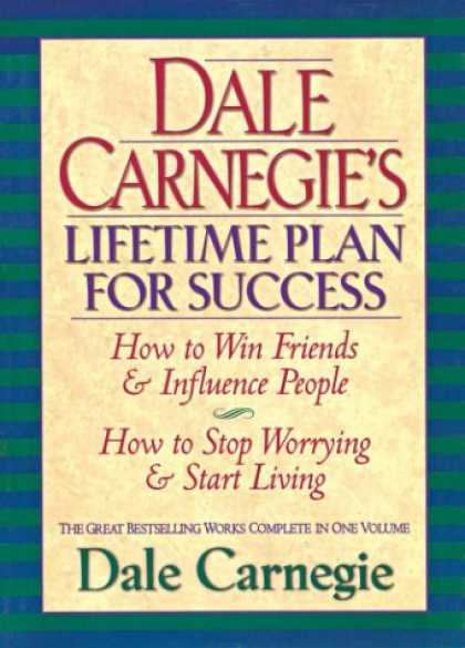 Books About Success - Dale Carnegie's Lifetime Plan for Success: The Great Bestselling Works Complete