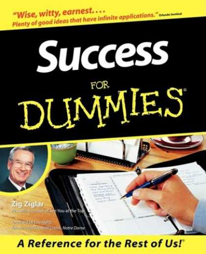 Books About Success - Success For Dummies (For Dummies (Computer/Tech))