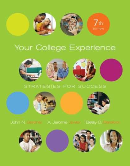 Books About Success - Your College Experience: Strategies for Success (with ThomsonNOW Printed Access