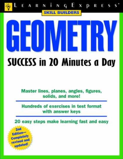 Books About Success - Geometry Success in 20 Minutes a Day, 2nd Edition (Skill Builders)