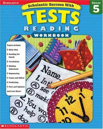 Books About Success - Scholastic Success with Tests: Reading Workbook Grade 5 (Grades 5)