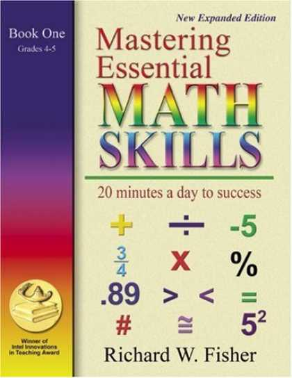 Books About Success - Mastering Essential Math Skills: 20 Minutes a Day to Success, Book 1: Grades 4-5
