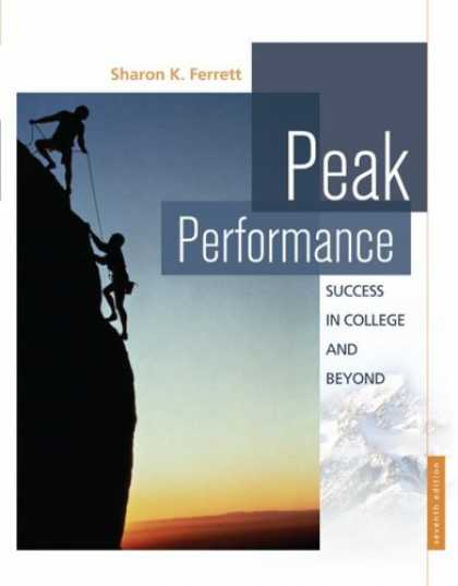 Books About Success - Peak Performance: Success in College and Beyond