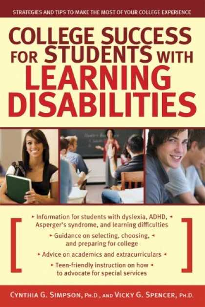 Books About Success - College Success for Students With Learning Disabilities: Strategies and Tips to