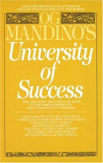 Books About Success - Og Mandino's University of Success