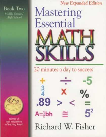Books About Success - Mastering Essential Math Skills: 20 Minutes a Day to Success, Book 2: Middle Gra