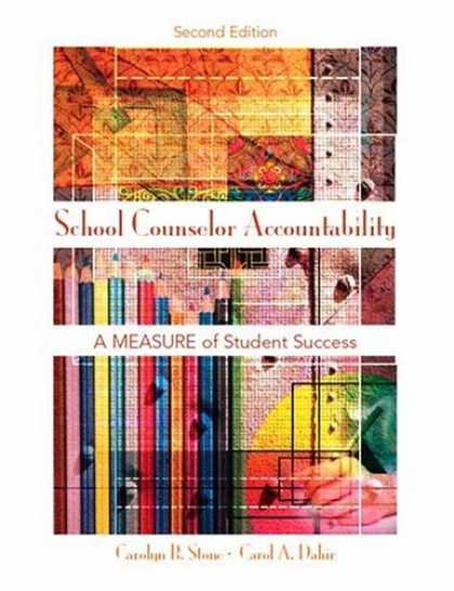 Books About Success - School Counselor Accountability: A MEASURE of Student Success (2nd Edition)