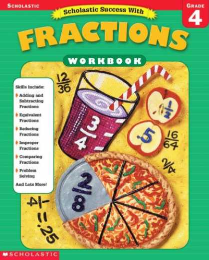 Books About Success - Scholastic Success With Fractions Workbook (Grade 4)