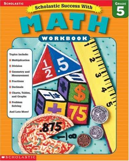 Books About Success - Scholastic Success With Math Workbook Grade 5 (Grades 5)