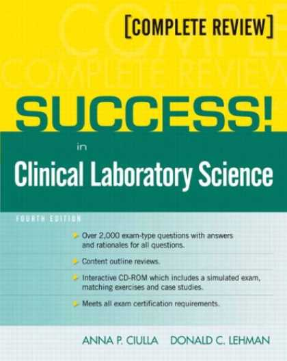 Books About Success - SUCCESS! in Clinical Laboratory Science (4th Edition)