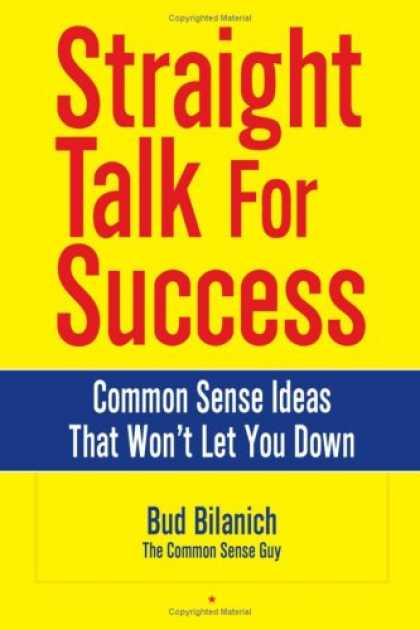 Books About Success - Straight Talk for Success