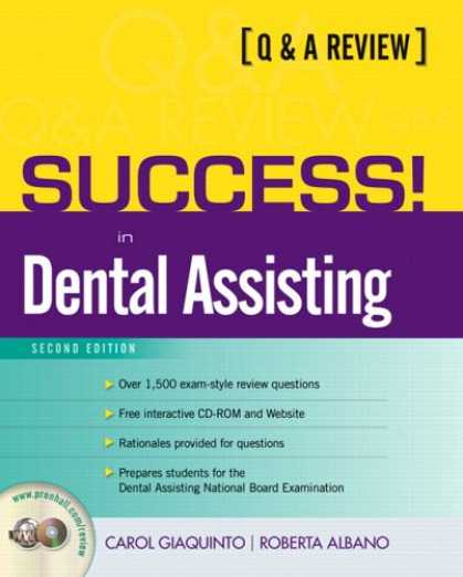 Books About Success - SUCCESS! for the Dental Assistant: A Q&A Review (2nd Edition) (Prentice Hall SUC