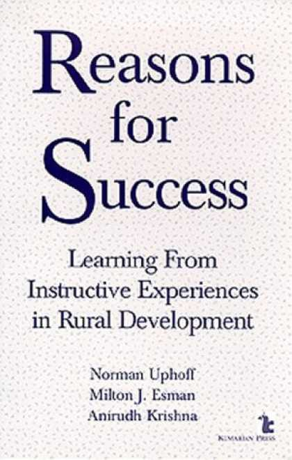 Books About Success - Reasons for Success: Learning from Instructive Experiences in Rural Development