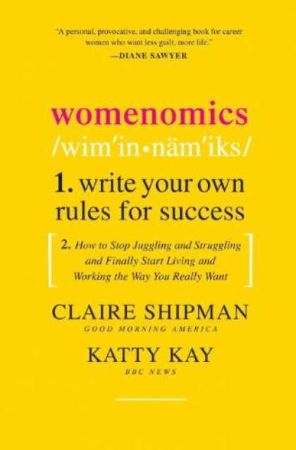 Books About Success - Womenomics: Write Your Own Rules for Success