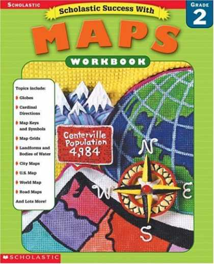Books About Success - Scholastic Success With Maps Workbook Grade 2 (Grades 2)