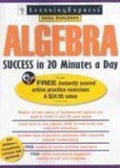 Books About Success - Algebra Success in 20 Minutes a Day, 3rd Edition (Skill Builders)