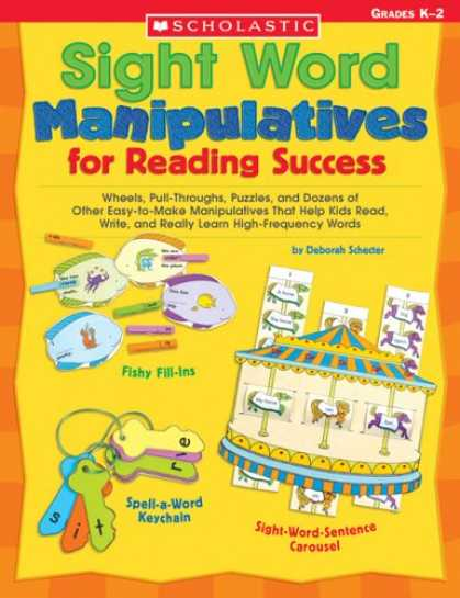 Books About Success - Sight Word Manipulatives for Reading Success: Wheels, Pull-Throughs, Puzzles, an