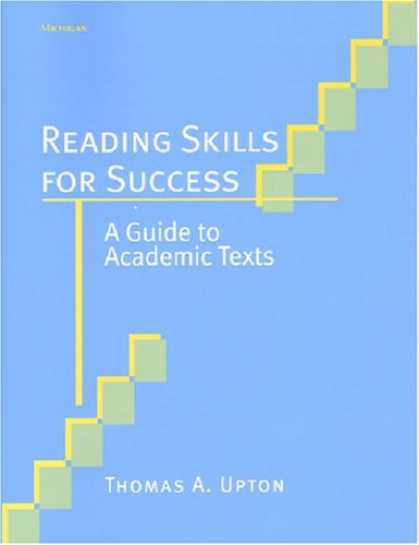 Books About Success - Reading Skills for Success: A Guide to Academic Texts