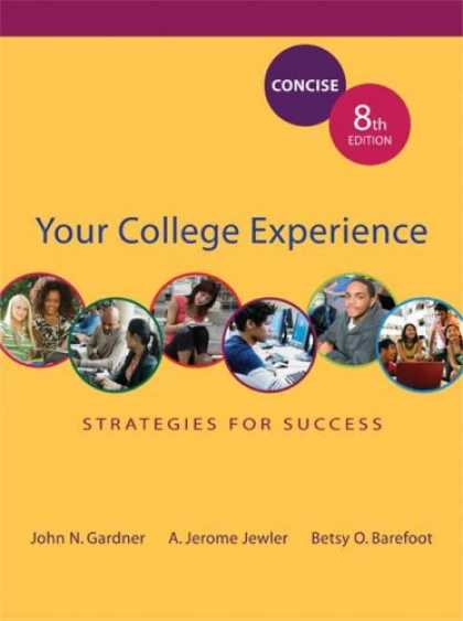 Books About Success - Your College Experience: Strategies for Success Concise Edition