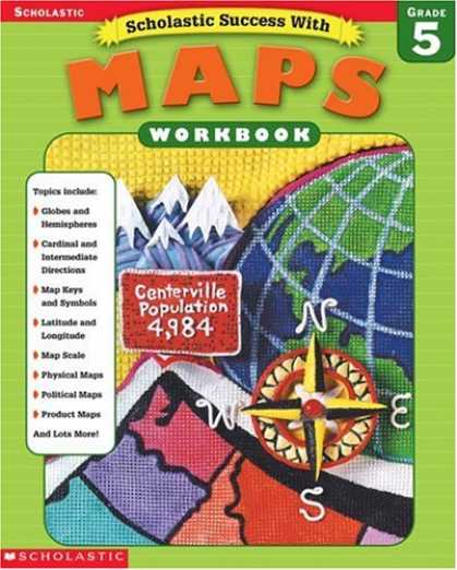Books About Success - Scholastic Success With Maps Workbook Grade 5 (Grades 5)