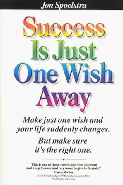 Books About Success - Success Is Just One Wish Away