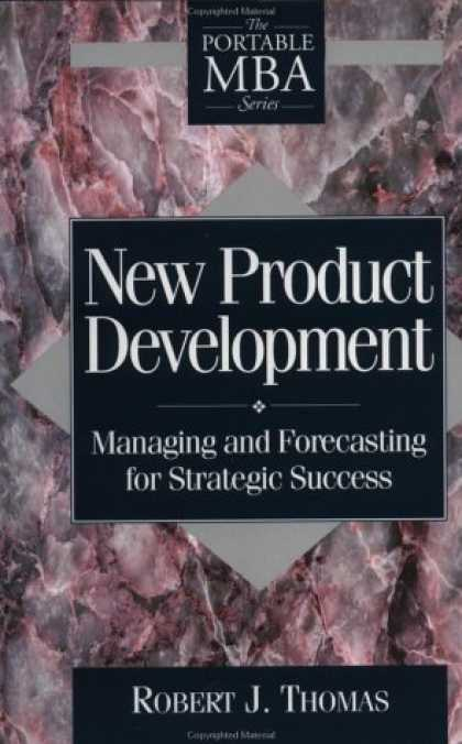 Books About Success - New Product Development: Managing and Forecasting for Strategic Success (Portabl