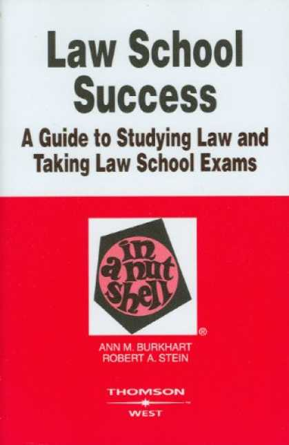 Books About Success - Law School Success in a Nutshell (Nutshell Series)