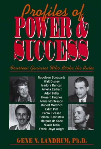 Books About Success - Profiles of Power and Success: Fourteen Geniuses Who Broke the Rules
