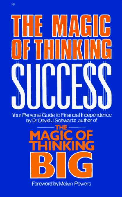 Books About Success - Magic of Thinking Success
