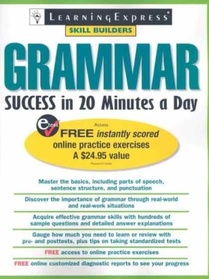 Books About Success - Grammar Success in 20 Minutes a Day (Skill Builders)
