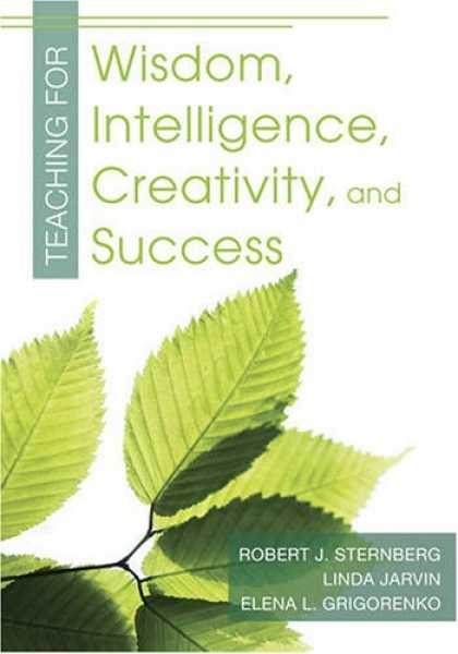 Books About Success - Teaching for Wisdom, Intelligence, Creativity, and Success