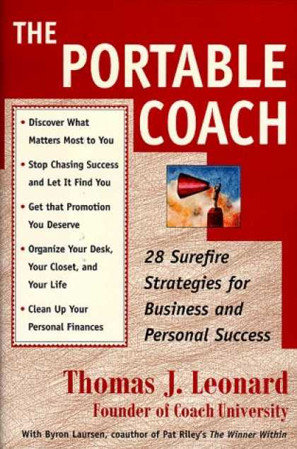Books About Success - The Portable Coach: 28 Sure Fire Strategies For Business And Personal Success