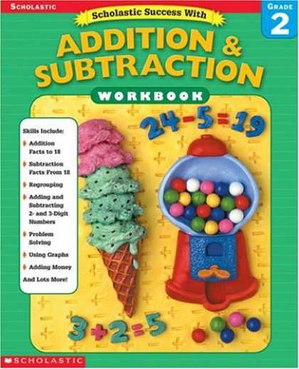 Books About Success - Scholastic Success With Addition & Subtraction Workbook (Grade 2)