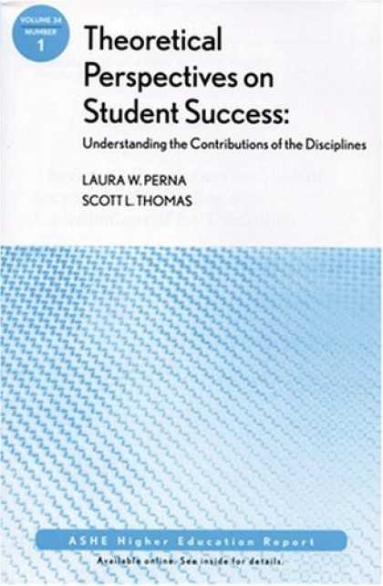 Books About Success - Theoretical Perspectives on Student Success: Understanding the Contributions of