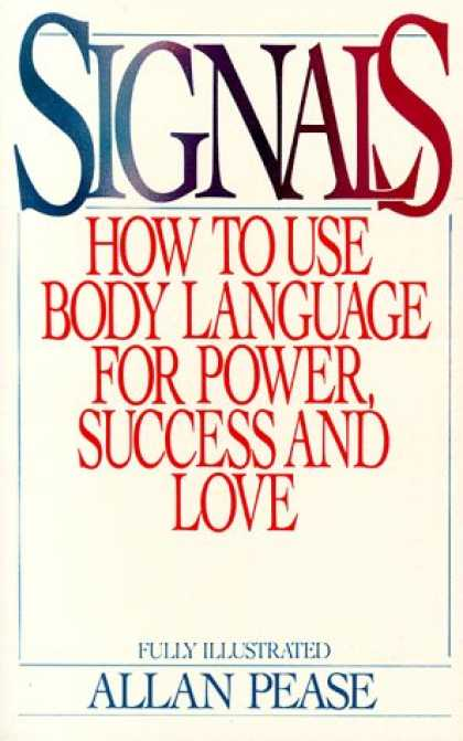 Books About Success - Signals: How To Use Body Language For Power, Success, And Love