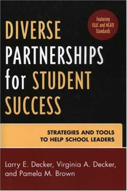 Books About Success - Diverse Partnerships for Student Success: Strategies and Tools to Help School Le