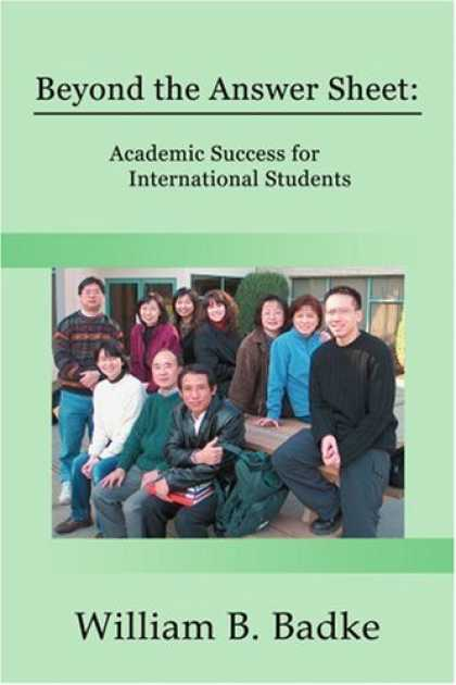 Books About Success - Beyond the Answer Sheet: Academic Success for International Students