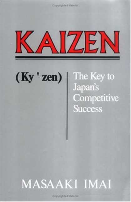 Books About Success - Kaizen: The Key To Japan's Competitive Success