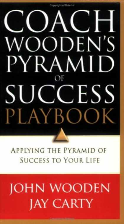 Books About Success - Coach Wooden's Pyramid of Success Playbook