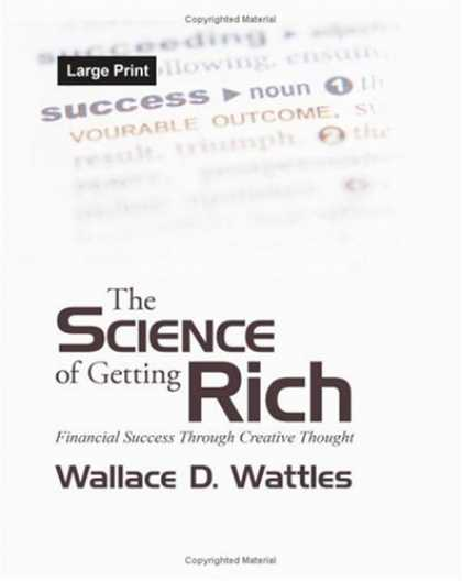 Books About Success - The Science of Getting Rich: Financial Success Through Creative Thought