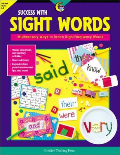Books About Success - Success With Sight Words: Multisensory Ways to Teach High-Frequency Words