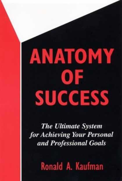 Books About Success - Anatomy of Success