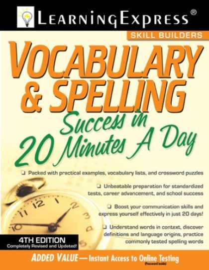 Books About Success - Vocabulary & Spelling Success in 20 Minutes a Day, 5th Edition (Skill Builders)